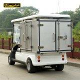 2つのシートの貨物ボックスが付いている実用的な電気輸送のゴルフカート