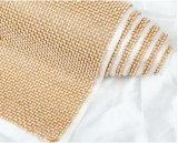 Engranzamento de cristal da rede do Rhinestone da venda da fábrica para sapatas/roupa