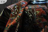 Double tissu de sofa de teinture de filé de Chenille par bonne qualité