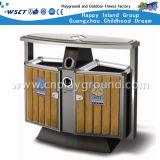 Venda a quente Lixo Publicidade Compartimento Duplo Trash Can na unidade populacional (HD-18413como)