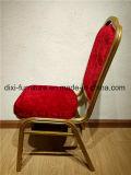 Оптовая торговля золотой раме отеля Банкетный стул алюминий/Iron ресторан место Председателя