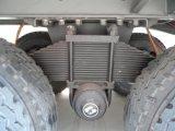 3車軸Gooseneckのトレーラー2X20/40のフィートの平面のトレーラー