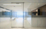 Puerta de cristal del marco interior de aluminio con alto Quanlity