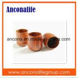 Coutume vos propres cuvettes de café en bambou amicales en bambou d'Eco de logo avec le traitement