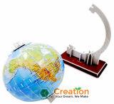 modello di mondo del globo 3D/puzzle di carta puzzle del cartone/giocattolo educativo