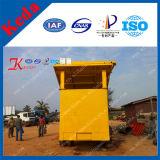 Planta de lavado de oro con una alta tasa de recuperación
