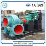 Große Kapazitäts-gemischte Fluss-Hochwasserschutz-Dieselwasser-Pumpe