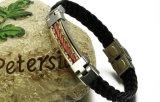 De Juwelen van Mens van de Armband van de Draad van het Roestvrij staal van de Punkmuziek van de Armbanden van de Armbanden van de Ketting van de Draad van de Armband van mensen