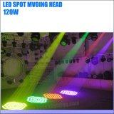 Iluminación de escenarios 120W Foco Cabezal movible LED