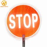 Светоотражающие остановки медленно Bat знак безопасности дорожного движения для Австралии