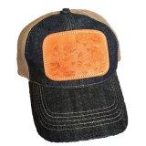 Connexions en cuir faites sur commande de /Jacket de chapeau de modèle d'étiquette neuve de cuir