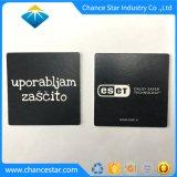 Imprimé personnalisé du papier noir jetables Coasters