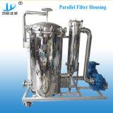 Filtro de mangas de ligação paralela de Duplex para filtragem de água potável e água mineral