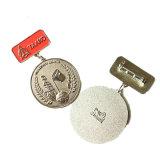 Alimentation de l'émail de métal de haute qualité de l'or Médaille avec barre de métal pour Souvenir (YB-M-002)