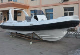 De Boot van de Toerist van de Familie van de Fabriek van de Boot van de Rib van Hull van de Glasvezel van Liya 25FT