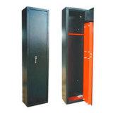Prueba de fuego de color negro de la placa de metal pistola tres cajas de seguridad fabricante