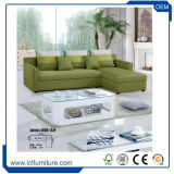 Modernes faltendes Futon-preiswertes ledernes Sofa-Bett mit Becherhalter, Schwarzes,