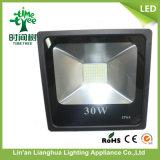lumière d'inondation de l'endroit d'éclairage de lampe de haute énergie de 30W SMD DEL