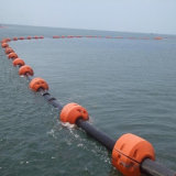 浮遊フランジを付けたようになったHDPEの浚渫の管浚渫船のための18インチ