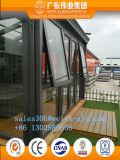 Finestra appesa superiore di alluminio isolata termica
