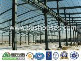 再生利用できるプレハブの建物の鉄骨構造の倉庫