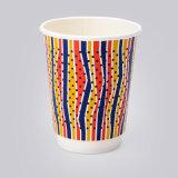 에스프레소를 위한 두 배 벽 종이컵