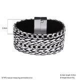 Magnetischer Haken-mehrschichtige Legierungs-Frauen-Armband-Form-Schmucksachen