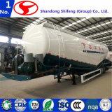 Semitrailer do caminhão de tanque do cimento ou Semi reboque maioria do caminhão