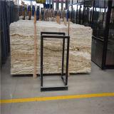 Pietra beige della lastra del travertino della giada del marmo di disegno popolare delle mattonelle