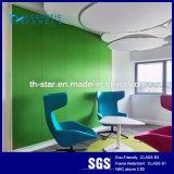 Comitato acustico della fibra di poliestere di alta qualità della decorazione della parete