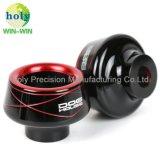 Kundenspezifische Präzisions-maschinell bearbeitenteile mit Motorrad-Vorderseite-Absinken-Cup