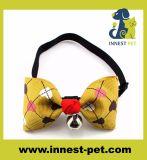 Legame di arco Handmade del cane del gatto dei regali di promozione di Quatity, elementi dell'animale domestico