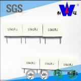 Resistore ad alta tensione del cemento bianco del TUFFO di Rgc