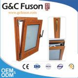 Ventana de apertura de cristal del oscilación de la calidad del marco de aluminio de clase superior del perfil