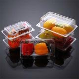 Caixa segura dos recipientes do empacotamento plástico do alimento descartável