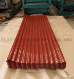 Hdgi SGCC+Z 물결 모양 강철 루핑 격판덮개 또는 루핑