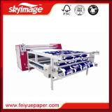 máquina de la prensa del calor del rodillo de 800*2500m m para la impresión de materia textil