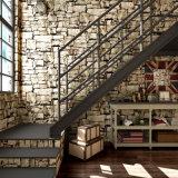 PVC Wallcovering, papel de empapelar del PVC, tela de la pared del PVC, papel pintado del diseño moderno del PVC