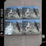 Cartes animales personnalisées de jeu de cheval