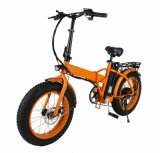 20 peso netto della bicicletta 19kg della signora City Folding Electric Fat dell'annata di pollice