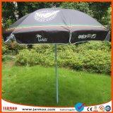 Soleil noir parapluie de logement pour la plage