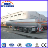 3 de Semi Aanhangwagen van de Tank van de Brandstof van het Vervoer van de Tanker van de Ruwe olie van assen