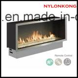 新しいデザインリモート・コントロールの屋内環境に優しい情報処理機能をもった生物エタノールの暖炉Inerts