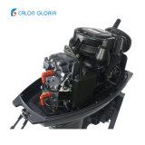 Calon Gloria 2 Accident vasculaire cérébral de l'essence 40HP Démarrage manuel du moteur de bateau de moteur