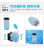 Lanterna solare chiara di campeggio ricaricabile esterna del LED con la carica del USB