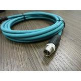 Мужчина X-Кодего кабеля M12 8pin кота 6A Profinet к разъемам штепсельной вилки RJ45 делает кабельный соединитель водостотьким