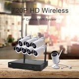 CCTVシステム720p 8CH HD無線夜間視界IPのカメラ