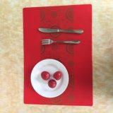 대중음식점을%s 음식 급료 실리콘고무 식탁용 접시받침, 테이블 매트