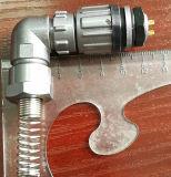Conetor apertado da água do ângulo direito de Fq14-2tr