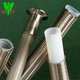 Slang de op hoge temperatuur SAE 100 van de Draad van Roestvrij staal 304 R14 de Slang van het Flexibele Metaal